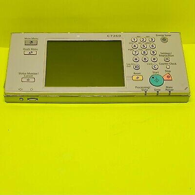 Canon Oem Display Control Panel Assembly For Ir Adv C7260 C7270 6255 6265 6275