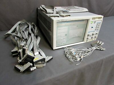 HP Agilent 16702B Logic Analysis System with Opt 003 & 8ZE, 6x 16717A Modules