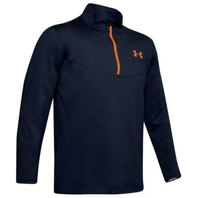 Under Armour Golf Tormenta Midlayer 1/2 Cremallera Camiseta (Academia / Orange -