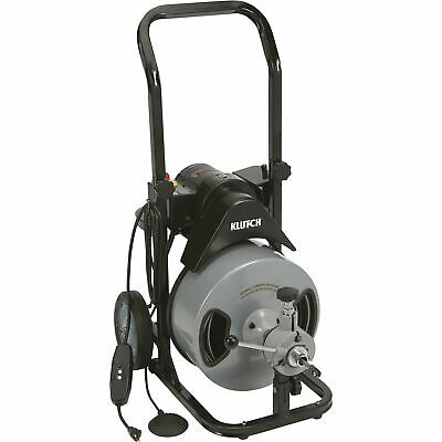 Klutch 60ft. Electric Drain Cleaner