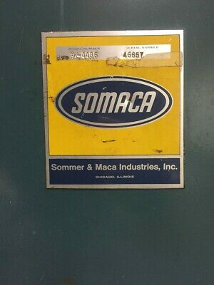 """Somaca 48"""" Commercial Flat Glass Washer Green, 6 Roller Brushes Air Dryer"""