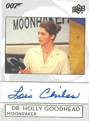 2019 James Bond Collection A-LC Lois Chiles as Dr Holly Goodhead Autograph Card!