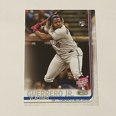 VLADIMIR GUERRERO JR. 2019 Topps Update Rookie RC Home Run Derby US272 Blue Jays