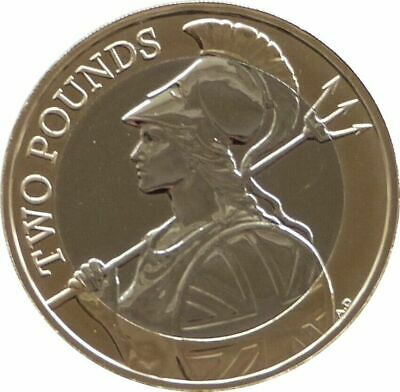 2020 Royal Mint British Britannia Definitive BU £2 Two Pound Coin Uncirculated