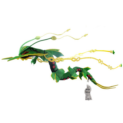 Pokemon Mega rayquaza plush doll stuffed toy Christmas birthday 33' 83cm green