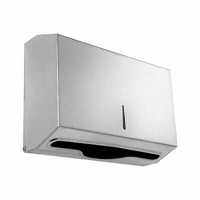 Paper Towel Dispenser Stainless Steel Lockable Design by Dependable Direct