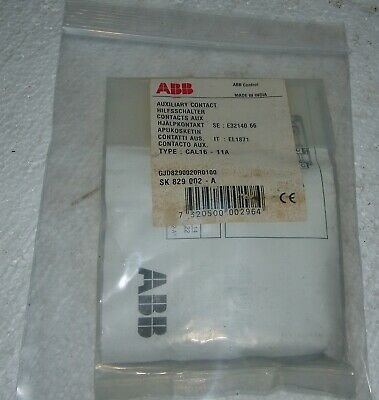 Abb aux contact SK809-002-A , CAL16-11A unused