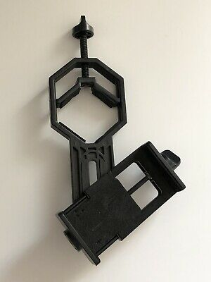 Vankey Cellphone Telescope Adapter Mount, Universal Phone Scope Mount, Black