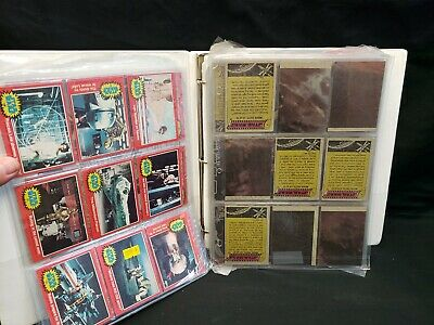 1977 + 1980 Star Wars 171 Trading Card Lot  + 1990's Topps Galaxy 135 Cards Set