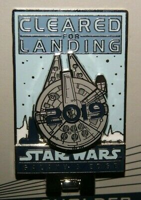 Disney Star Wars Galaxys Edge Opening Day Pin DATED 5/31/19 AP Annual Passholder