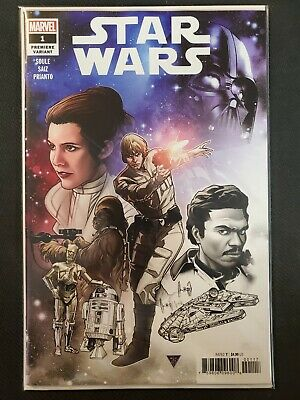 Star Wars #1 Premiere Variant Marvel NM Comics Book
