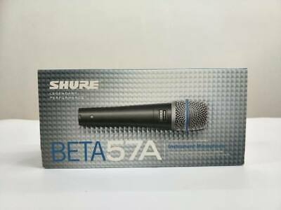 Brand New Shure BETA 57A Supercardioid Dynamic Microhone with High Output
