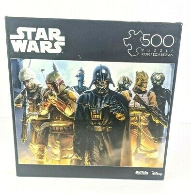 "Star Wars™ ""He's All Yours, Bounty Hunter"" 500 Piece Jigsaw Puzzle Disney Darth"