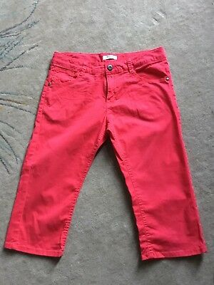 Girls LA REDOUTE Coral 3/4 Trousers  Age 10 Years