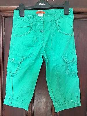 Girls LA REDOUTE Green 3/4 Trousers  Age 10 Years