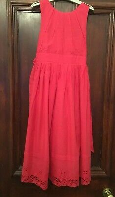 Girls VERTBAUDET Pink Fully Lined Party Dress Age 13-14 Yrs BNWT