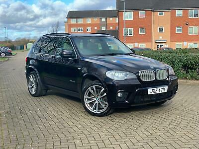 BMW X5 40d M Sport 2012 one owner panroof