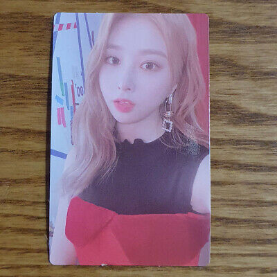Yunkyoung Official Photocard Rocket Punch 2nd Mini Album Red Punch Genuine Kpop