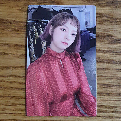 Sohee Official Photocard Rocket Punch 2nd Mini Album Red Punch Genuine Kpop