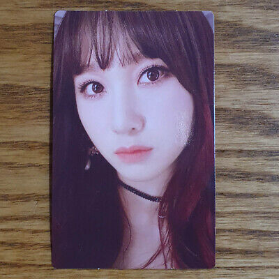 Juri Official Photocard Rocket Punch 2nd Mini Album Red Punch Genuine Kpop