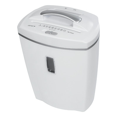 Genie 580 Xcd Paper Shredder 10 Sheets Cut Particles and CD Elimination