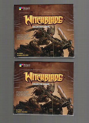 Witchblade by Breygent  -    You Get 2 (TWO) Factory Sealed Trading Card Boxes