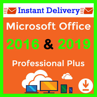 Office 2019 2016 Pro Plus License Key Office 2019 2016 Professional Plus Instant
