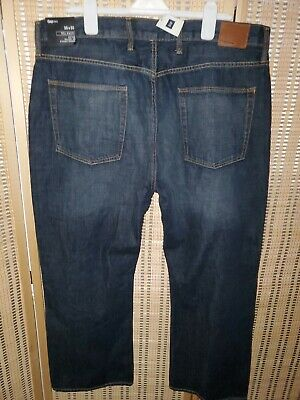 Brand New! Mens $59.95 Gap 1969 Relaxed Fit Denim Blue Jeans Size 38x30 - NWT!