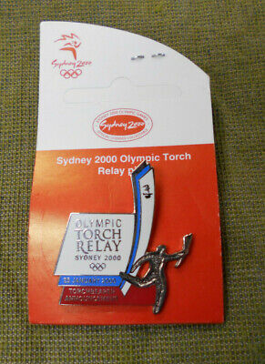 #P104.   Sydney 2000 Olympic  Pin - Torch Relay