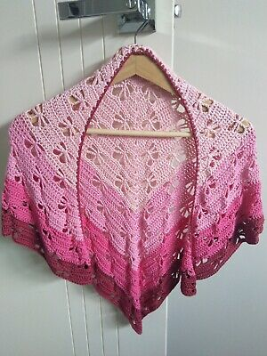 **NEW** Child's dragonfly shawl (Handmade, Bamboo and Cotton)