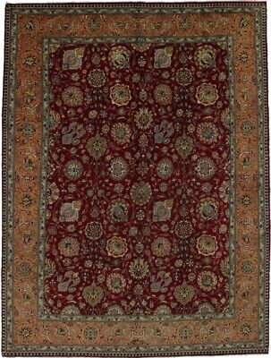 Vintage Traditional Hand Knotted 10X13 Rare Oriental Area Rug Home Decor Carpet