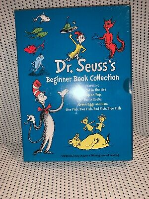 Dr. Seuss's Beginner Book Collection (Cat in the Hat, One Fish Two Fish, Fox In)