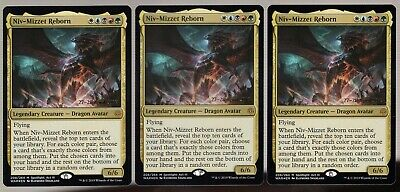 NIV-MIZZET REBORN Magic WAR Mint NIV-MIZZET RINATO