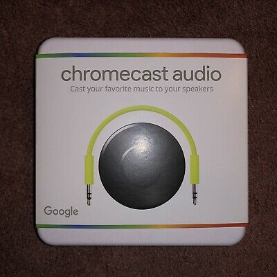 Google Chromecast Audio Media Streamer - Black