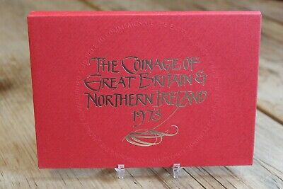1973 Royal Mint Proof 6 Coin Collection Set 1/2 - 50 Pence ~ Cased