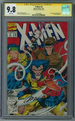 X-Men #4 CGC 9.8 (W) Signed By Jim Lee 1st appearance of Omega Red