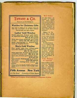 1905 Orig Ad Little Journeys Roycroft Magazine Tiffany Watches Features Wallace
