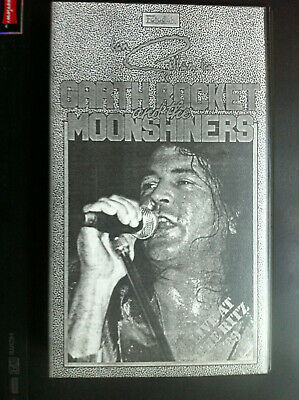 IAN GILLAN GARTH ROCKET THE MOONSHINERS VHS Video Cassette Tape DVD Deep Purple