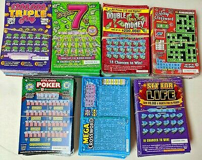 700 Used California Scratchers $5 Tickets