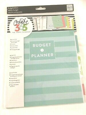 CREATE 365 HAPPY PLANNER Budget Planner Edition New in Sealed Package