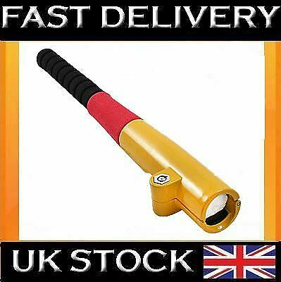 H/Duty Baseball Bat Car Van Steering Crook Wheel Lock