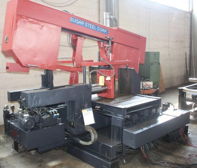 "31.8"" X 19.6"" Amada Hk-800 Semi - Automatic Horizontal Band Saw: Ybm #11083"