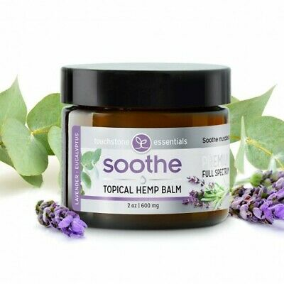 Toucstone Soothe Topical Hemp Balm 600mg Brand New