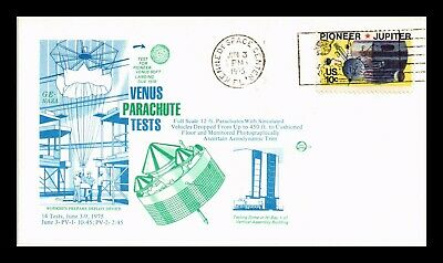 Dr Jim Stamps Us Venus Parachute Tests Space Event Cover 1975