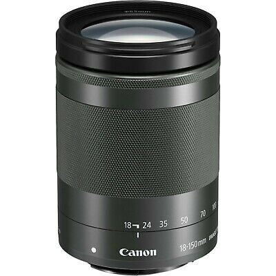 Canon EF-M 18-150mm F/3.5-6.3 IS STM Lens (Black) *NEW*