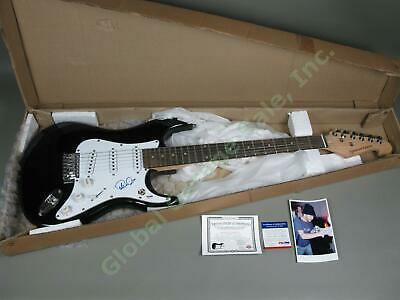 Phish Trey Anastasio Hand Signed Autographed Electric Guitar PSA/DNA COA w/Photo