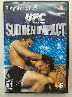 ~TESTED VG~ Sony Playstation 2 PS2 Sudden Impact Fast Shipping Canada