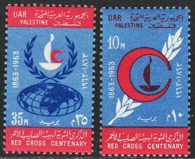 Egypt Scott N96-N97 complete set  F to VF mint OG H.