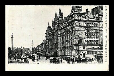 Dr Jim Stamps London North Western Hotel Liverpool United Kingdom Postcard