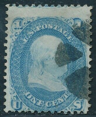 Dr Jim Stamps Us Scott 63 1C Franklin Used No Reserve Free Shipping
